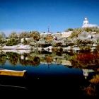 Masčio ežeras žiemą